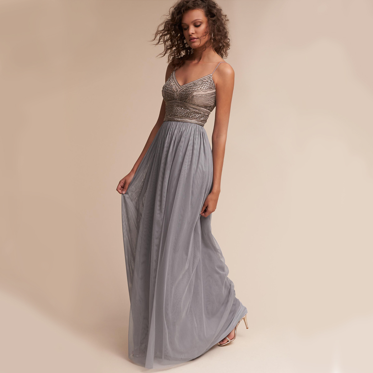 Something Blue BHLDN Dress
